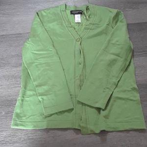Jones new York green blouse